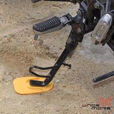 Streetfighter Dirtbike Kickstand Plate Biker's Side Kickstand Pad Yellow Xmas