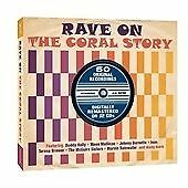 VARIOUS - RAVE ON ( THE CORAL STORY ) DOUBLE CD DIGIPAK ALBUM NEW