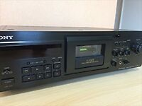 Used SONY TC-KA3ES Stereo Cassette Deck Lapis Black from JAPAN EMS Free Shipping