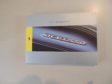 Uso y Mantenimiento Ferrari GTC4 Lusso Manual del Propietario Betriebsanleitung