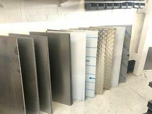 Steel aluminium plate sheet all sizes repair patches custom sheet metal welding