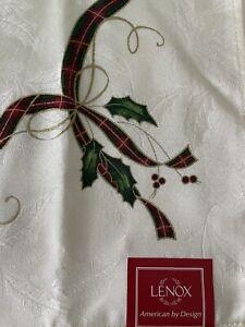 "NEW Lenox CHRISTMAS HOLIDAY NOUVEAU 20"" x 20"" DINNER NAPKINS Set Of 10"