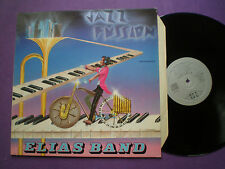 ELIAS BAND Jazz Fussion SPAIN LP 1986 NM Spanish Jazz Funk Fusion