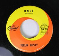 Country 45 Ferlin Husky - Once / Why Do I Put Up With You On Capitol Records