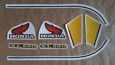 Autocollants / Stickers / Decals Honda XL250 - 250 XL