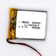 3.7V 403035 450mAh Li polymer Akku Lipo Battery mit PCB Cell für Bluetooth GPS