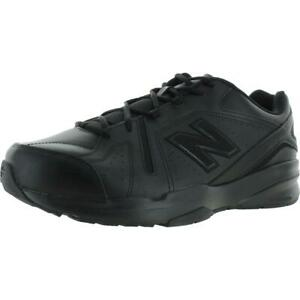 New Balance Men's 608v5 Leather Slip Resistant Cushioned Athletic Sneakers Shoes