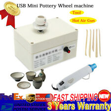 Mini Usb Pottery Wheel Ceramic Molding Machine For Diy Ceramic Art Work Stable
