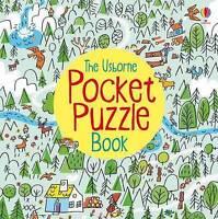 Pocket Puzzle Book (Usborne Pocket Puzzle) by Sarah Courtauld, Alex Frith, NEW B