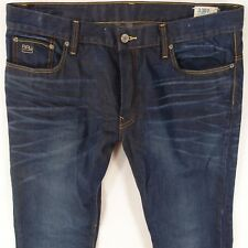 Da Uomo G-STAR 3301 Boot Bootcut RELAXED FIT Blue Jeans W38 L32