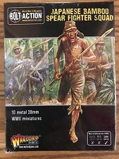 Bolt Action, 2nd Edition: Japanese Bamboo Spear Fighter Squad (10)