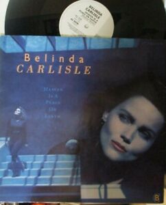 """BELINDA CARLISLE ~ Heaven Is A Place On Earth ~ 12"""" Single PS"""