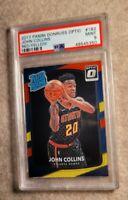 2017-18 Donruss Optic Red Yellow#182 John Collins Atlanta Hawks Rookie PSA 9💎📈