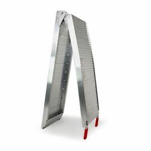 Rampe de chargement Pliable pleine en Aluminium