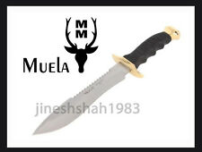 KnifeThe MUELA Muela Tactical Knife With Golden Zamak And Polymer Handle 85-180