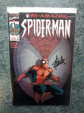 AMAZING SPIDER-MAN #1 - DYNAMIC FORCES  STAN LEE  VARIANT SIGNED W COA 1 of 1500
