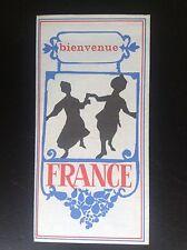 Rare ancien dépliant Brochure France