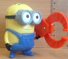 MCDONALDS HAPPY MEAL giocattoli CATTIVISSIMO ME 2 MINION DAVE GADGET Riposiziona-USATO