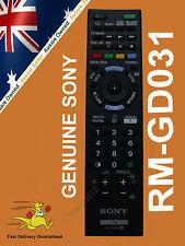 GENUINE SONY BRAVIA REMOTE CONTROL RM-GD031 RMGD031 KDL-50W700B KDL-60W600B