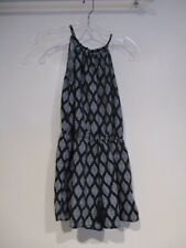 MOSSIMO black white pattern shorts jumper romper sz M