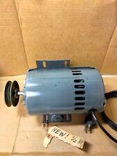 NOS vintage A.O. Smith HVAC Motor  C48J2C100 1/2HP 115/230V 3450 RPM 1/2 D shaft