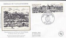 FRANCE 1989 FDC CHATEAU DE VAUX LE VICOMTE YT 2587