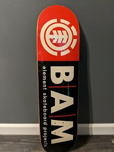 Bam Margera Element Deck 8 red/black