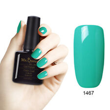 MS.QUEEN Gel Nail Polish No Wipe Top Base Summer Bright/ Green/ Cat Eye/Matte