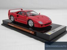 Ferrari F40 red with display case 1:18 - M5904 Amalgam
