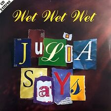 Wet Wet Wet CD Single Julia Says - England (EX/EX)
