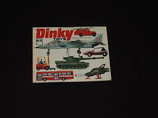 DINKY TOYS No.10 1974 CATALOG CARS, TRUCKS, MILITARY VEHICLES, INC