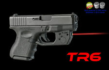 ARMALASER TR6 GLOCK 26 , 27 & 33 SUPER-BRIGHT 635nm LASER with GRIP ACTIVATION
