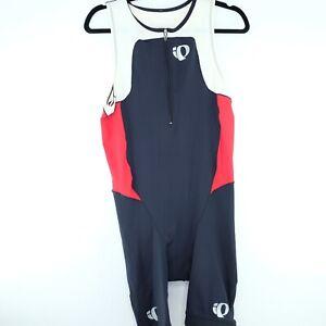 Pearl Izumi Elite Tri Suit Sz XL In R Cool Bib Jersey Cycling Wht Blk Red NWT