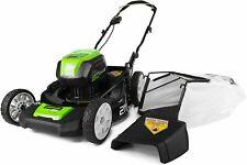 Cordless Lawn Mower Lightweight Quiet Outdoor Power Equipment 80 Volt Tool Only