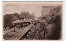 More details for railway station, mount florida: glasgow postcard (c9728)