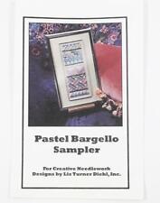 Pastel Bargello Sampler - Creative Needlework Designs Pattern Glissen Gloss 1994