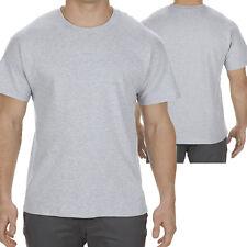 Men T shirt Basic Crew Neck Cotton Tee Plain color T-shirts 6XL, 7XL Big & Tall