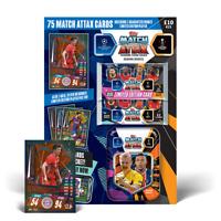 2020/21 Match Attax Collector Pack - 75 cards inc 2 Limited: Messi Lewandowski