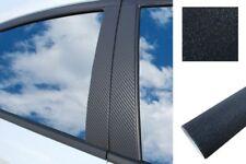 6 x Premium a B C Montante Porta Listelli Diapositiva di Auto Wrap Set Nero