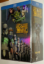 Star Wars - Clone Wars Stagioni 1,2,3,4,5 Collectors Cofanetto Blu-ray