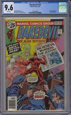 Daredevil #135 CGC 9.6 NM+ Wp Vs. Jester Marvel Comics 1976 Peter Parker Cameo