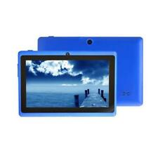 "7"" Android 4.4 8GB Dual Cameras Quad Core WiFi Kids Tablet PC For Gifts Blue T+"