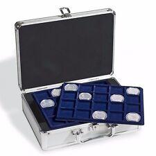 MALETIN Leuchttum;  para 112 monedas de hasta 48mm. Incluye 6 BANDEJAS; Ver !