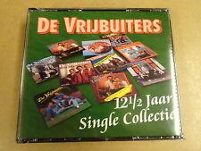 2-CD BOX / DE VRIJBUITERS - 12 1/2 JAAR SINGLE COLLECTIE