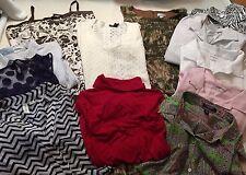 Lot of Women's Clothing, size XL & 14, Shirts, Dresses, Skirt, Sweater, ++ - F1