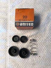 "New Napa 1 1/16"" Wheel Cylinder Kit 54-61 Cadillac 57-59 Chevrolet 48-66 Ford"