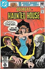 Secrets of Haunted House Comic Book #30, Dc Comics 1980 Fine/Fine+