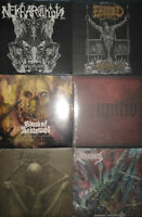 DEATH METAL PAKET - 6x LPs DEATH METAL - NEW/NEU
