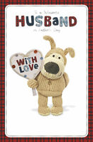Boofle Wonderful Husband Happy Father's Day Card Lovely Greeting Cards