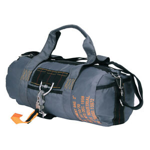US Army Para Bag Paratrooper Pack Bag Parachute Jumper Army Bag Grey #2